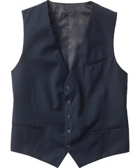 bpc selection Gilet de costume Regular Fit bleu sans manches homme - bonprix