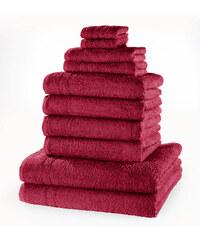 bpc living Serviettes de toilette New Uni (Ens. 10 pces.) violet maison - bonprix