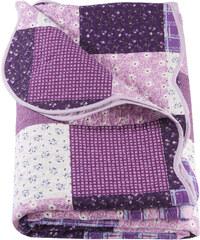 bpc living Couvre-lit Milva violet maison - bonprix