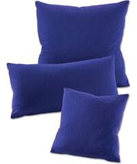 bpc living Housses de coussin Jersey (lot de 2) bleu maison - bonprix