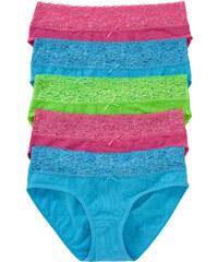 bpc bonprix collection Culottes (lot de 5) bleu lingerie - bonprix
