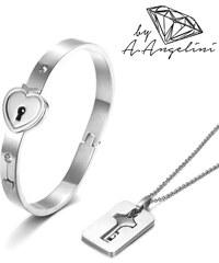 Ensemble bracelet et collier A.Angelini