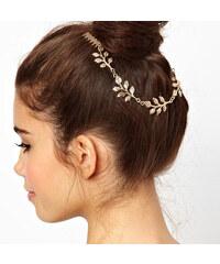 Lesara Blätter-Haarband mit Kämmen