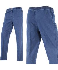Lesara Pantalon en denim avec poches zippées