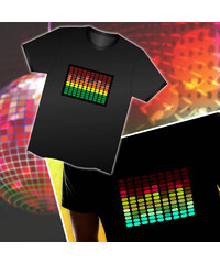Lesara LED-Shirts mit Sounderkennung - XS