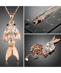 Lesara Halskette mit Fischanhänger