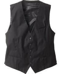 bpc selection Gilet de costume Regular Fit noir sans manches homme - bonprix