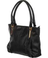 TopMode Elegantní zdobená kabelka černá