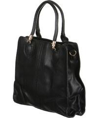 TopMode Stylová dámská kabelka černá