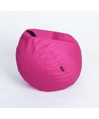 Oskar Sedací vak (taburet) Mignon růžový polyester