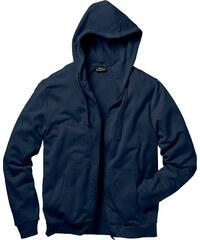 bpc bonprix collection Gilet sweat-shirt à capuche Regular Fit bleu manches longues homme - bonprix