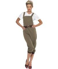 Kostým Válečná vesnická dívka Velikost L 44-46