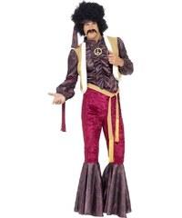 Kostým 70s Psychedelic rocker Velikost L 52-54