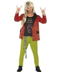 Kostým 80s Rock Star Velikost L 52-54