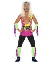 Kostým Retro Wrestler Velikost L 52-54