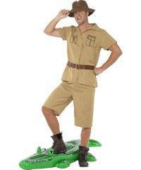 Kostým Safari man Velikost L 52-54