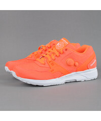 Reebok Pump Running Dual Tech solar orange / white