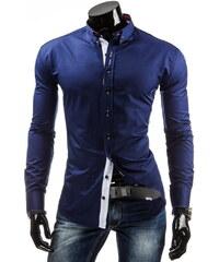 Pánská košile Redpolo - tmavě modrá