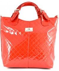Červená značková kabelka do ruky Edine Coradi Merto 1299