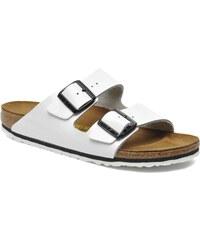 Birkenstock - Arizona Cuir W - Clogs & Pantoletten für Damen / weiß