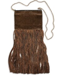 Lindex Flitrová kabelka s třásněmi