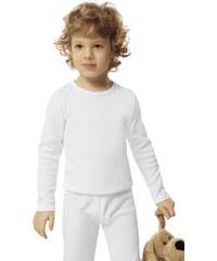 Clapecké triko Italian Fashion Tomi (dlouhý rukáv), bílá