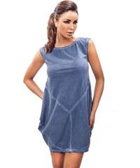 Šaty Enny 190007, modrá - tmavě