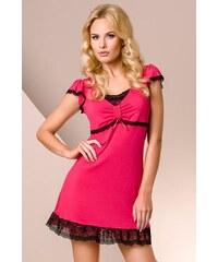 Noční košilka Passion PY001 pink, růžová