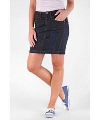 SAM 73 Dámská džínová sukně v délce nad kolena WZ 107 990J - modrá tmavá