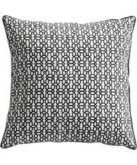 Tine K Home Povlak na polštář Grey Blockprint