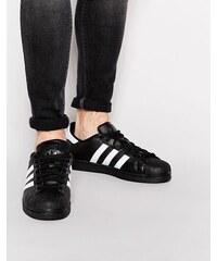 Adidas Originals - Superstar B27140 - Baskets - Noir