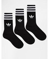 adidas Originals - Einfarbige Socken - Schwarz