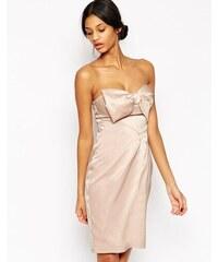 Lipsy - VIP - Robe fourreau bandeau avec nœud - Rose