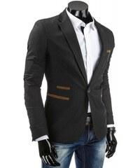 Pánské sako Bolana černé - černá