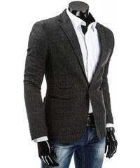 Pánské sako Neapol černé AKCE - černá