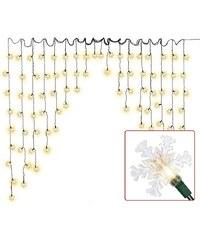 Lesara Guirlande de LED avec flocons