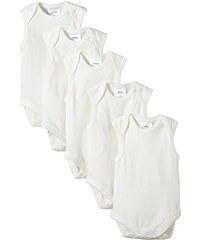 Twins Unisex Baby - Achselbody aus Bio Baumwolle im 5er Pack