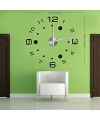 3D Nalepovací nástěnné hodiny - 12S013