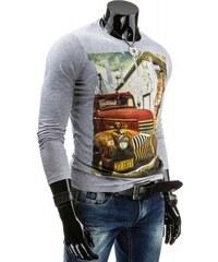 Tričko Wogo šedé - šedá