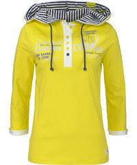 John Baner JEANSWEAR Shirt mit Kapuze, 3/4-Arm in grün für Damen von bonprix
