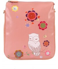 Vendula London Vendula - Snowy Owl - Crossbody Taška - Růžová