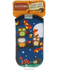 Santoro London - iPhone 4/4S/5/5C/5S Pouzdro - Owl