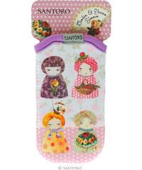 Santoro London - iPhone 4/4S/5/5C/5S Pouzdro - Dolls