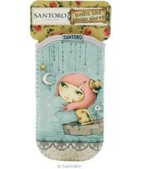 Santoro London - iPhone 4/4S/5/5C/5S Pouzdro - Mirabelle - Adrift
