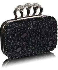 Dámské psaníčko Diamantes 172A černé