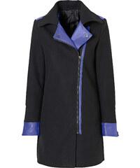 BODYFLIRT Manteau court noir manches longues femme - bonprix