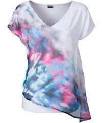 BODYFLIRT T-shirt blanc femme - bonprix