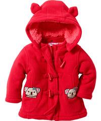 bpc bonprix collection Gilet polaire bébé rouge manches longues enfant - bonprix