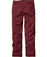 bpc bonprix collection Pantalon chino extensible Slim Fit, N. rouge homme - bonprix