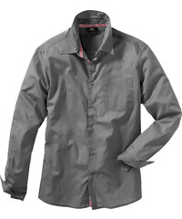 bpc bonprix collection Chemise manches longues Regular Fit gris homme - bonprix